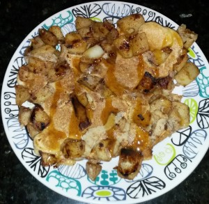 Healthy Protein Apple Fritter